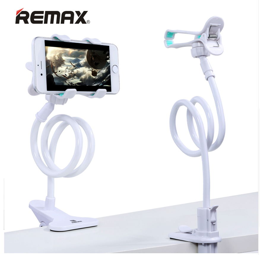 Remax 360Rotation Flexible Long Arm Mobile Phone Stand Lazy People Bed Desktop Table Mount Holder for iphone for samsung huawei mobile phone