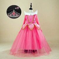 Children's Clothing Girls 3 4 5 7 8 9 10 11 12 Years Cosplay Tutu Tulle Girls Birthday Dress Sleeping Beauty Costume