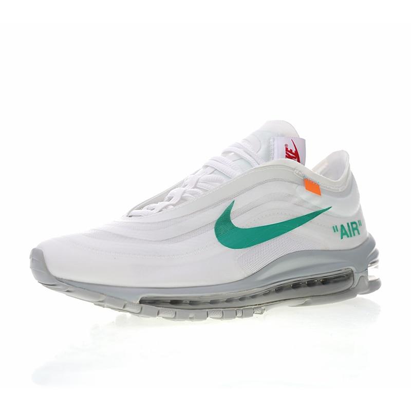 "Best Replica Off White x Nike Air Max 97 ""Menta"" AJ4585 012"