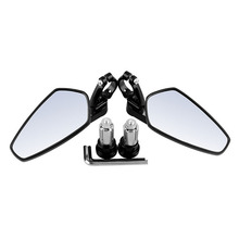 Motorcycle Bar End Mirrors Rear View CNC for Honda GROM MSX125 CB500F / Kawasaki Z125 pro Z650 Z750 Z800 Z900 ER6N ER6F Yamaha