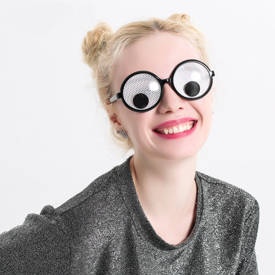 Funny Googly Eyes Goggles Shaking Eyes Party Glasses And Toys For Party Cosplay Costume  Sleep Mask
