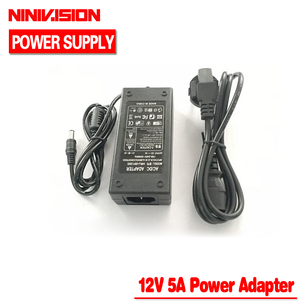 Lowest Price New AC Converter Adapter For DC 12V 5A 60W LED Power Supply Charger for 5050/3528 SMD LED Light or LCD Monitor CCTV николаева ю н 390 лучших судоку isbn 978 5 386 09955 8