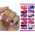 Transferencia de agua de uñas Art Sticker Bright Crystal Nail Design Sticker decoración manicura herramientas Nail Wraps tatuajes K5721B