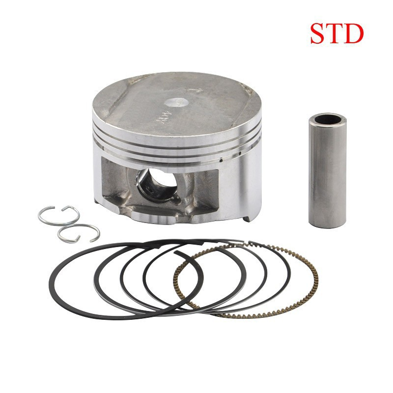 TTR250 Piston & Rings Kit Motorcycle Engine Parts Piston Set For Yamaha TTR 250 STD Standard Cylinder Bore Size 73mm New luoyang yto engine lr4108t53 parts the set of piston rings part number rb 050002 1 03 1 0200 1