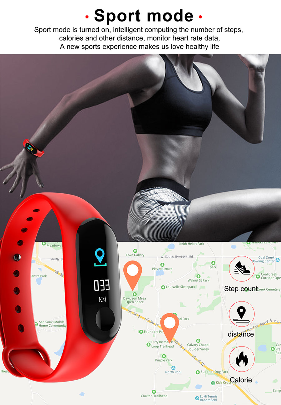 BOAMIGO Smart Watch Men Women Heart Rate Monitor Blood Pressure Fitness Tracker Smartband Sport Bracelet  For ios Android Phone