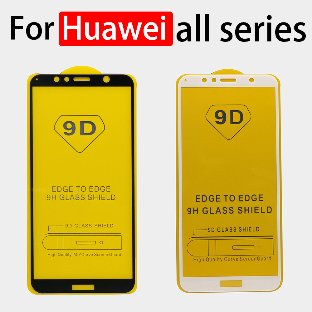 Protective glass on For Huawei <font><b>Honor</b></font> 8 9 lite <font><b>verre</b></font> <font><b>tremp</b></font> screen protector huawey huavei 7a 7c <font><b>7x</b></font> a7 8lite light tempered glas image