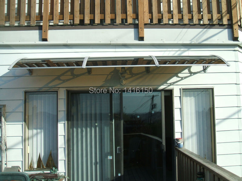 shipping door awning use aluminum bracket with sheet door awning aluminum