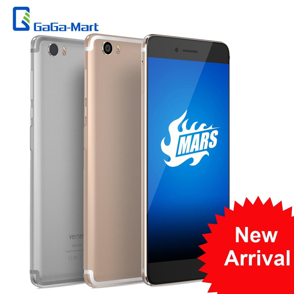 """bilder für Neue Vernee Mars 4G LTE Handy Android 6.0 MTK6755 Helio P10 Octa-core 4 GB + 32 GB 13MP Fingerprint 5,5 """"zoll FHD Smartphone"""