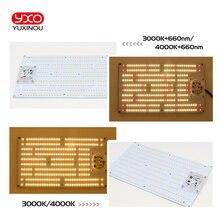 120W ללא נהג AC 220V סמסונג led 300pcs רק PCBA LED לוח, QB288 V2 PCB עם LM301B + 660nm 3000K diy led צמח לגדול אור