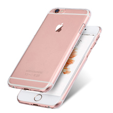 For iPhone 4 4S 5 5S 5C 6 6PLUS Transparent Hard Plastic Crystal Clear Luxury Protective Cover Phone Cases