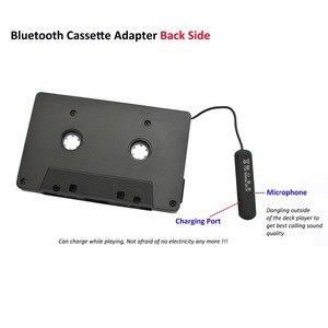 Image 5 - Многофункциональный автомобильный Bluetooth Кассетный адаптер, Bluetooth V4.1 музыкальный приемник адаптер с TF 4GB work во время зарядки, поддержка TF