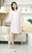 2016 Fashion NEW sexy Women's Sleepwear nightgown Women's Home Clothes sleepshirt nightdress Free Shipping