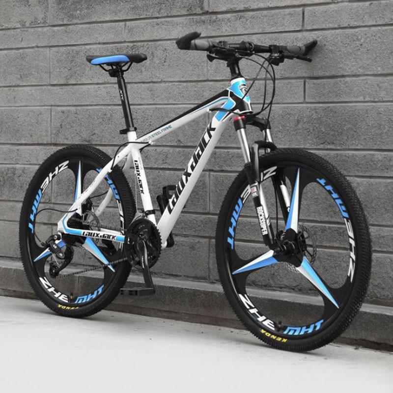 Mountain Bike 21 Variable Speed Three-knife XC Cross Country Mountain Bicycles Variable Speed Road Bike