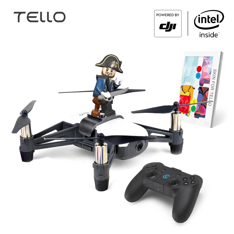 DJI Tello Caméra Drone Ryze Tello avec Codage L'éducation 720 P HD Transmission quadrirotor FVR HÉLICOPTÈRE