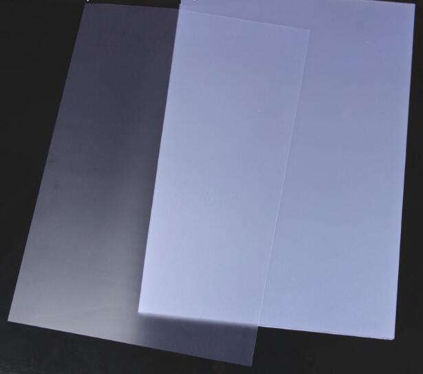 Size A4 Lightly Matte Translucent PVC Polycovers Sheet Plastic Bingding Report Cover 3/10/30/50pcs You Choose Quantity