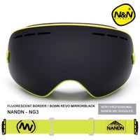 Nandn Brand Sport Professional Ski GoggleS Eyewear Anti Fog UV400 Ski Glasses Points Mask Skiing Snowboard