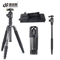DIGITALTOFO RT50C 12KG bear carbon fiber professional camera tripod DSLR monopod stand for Canon Nikon shooting photographer