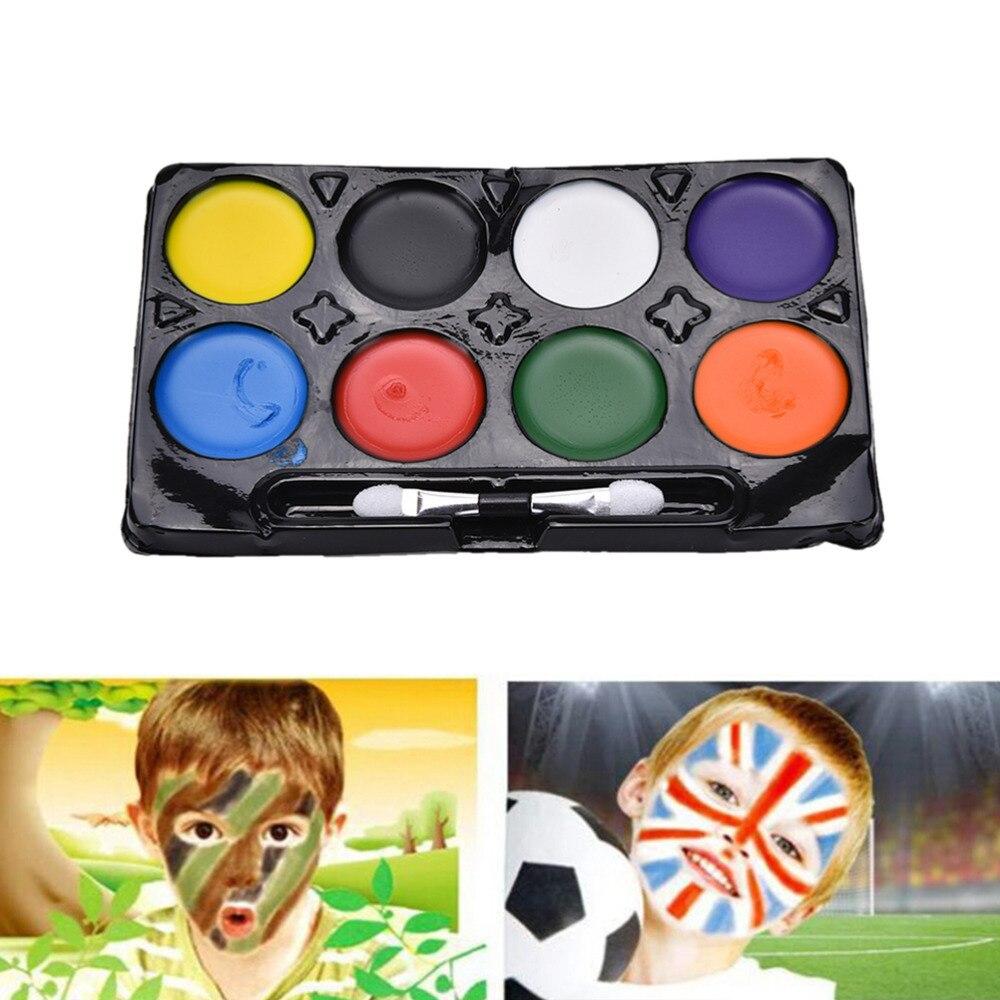 colores pintura de la cara de maquillaje pinturas etapa del partido de halloween carnaval clsico