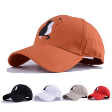 baseball cap men women mens black dad hat embroidery two cat  gorras de animales animal