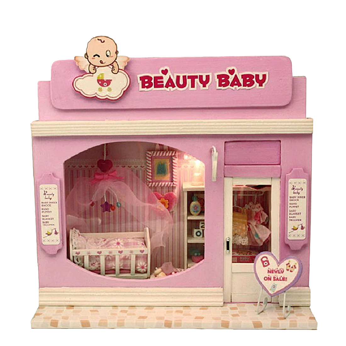 5 Styles Creative DIY Dollhouse Casa 3D Wooden Doll House Toys Model Miniatura With Furnitures Toys For Children Christmas Gift