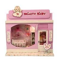 5 estilos criativo diy casa de bonecas 3d casa de boneca de madeira brinquedos modelo miniatura com móveis brinquedos para crianças presente natal