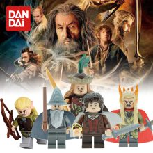 Legoingly Magic Series The Lord of the Ring Gandalf Sauron Radagast Aragorn Model Bricks Building Blocks DIY Toys Gifts GK30(China)