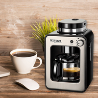 CM6686A Fully Automatic Coffee Maker 1 4 Cups American Coffee Machine Small Drip Type Coffee Machine