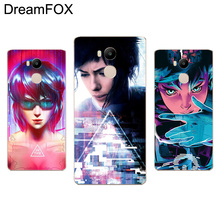 DREAMFOX M105 Ghost In The Shell Soft TPU Silicone Case Cover For Xiaomi Redmi Note 3 4 4X 5 5A 6 7 Pro Global