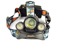 Head Torch LED Headlamp 5000 Lumens Head Lamp T6 3 LED Headlight Flashlight 18650 Rechargeable Battery