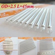 Hoge Kwaliteit 1000 stks OD2.5 45mm Glasvezel Fusie Bescherming Splice Mouwen Fiber Koppeling Heat krimpkous