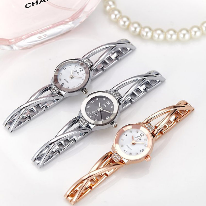 Top Brand Luxury Rhinestone Watch Women Simple Bracelet Watches Quartz Ladies Wristwatch 2017 Slim Bracelets Female Clock Reloj mjartoria ladies watches clock women quartz watch simple sport bracelet watch student girl female hand wrist watches for women