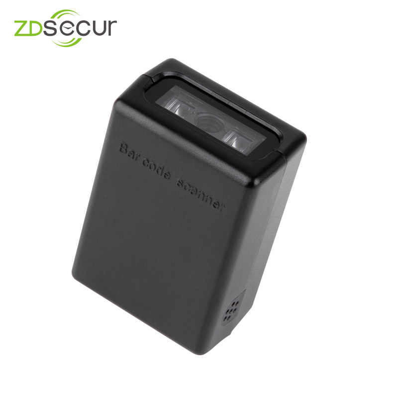 Portable 1D 2D Barcode Scanner Cincin Bluetooth Mini Barcode Reader Scanner