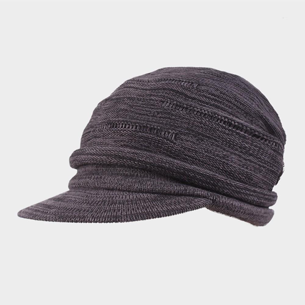 714cecd0296 Kenmont Autumn Winter Unisex Men Women 100% Cotton Knit Beret Hat ...