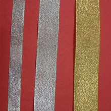 5yards/lot 7MM to 50MM Width Silver Twill Polyester Ribbon Bias Binding Webbing For Diy Bag Craft Projects Gold Lurex onion Tape