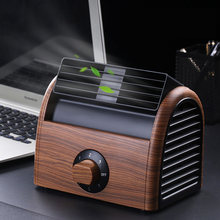 2018 Newest Leafless Fan Air Conditioner Cool Wind Desk Electric Portable Silent Bladeless fan for home bedroom office(China)