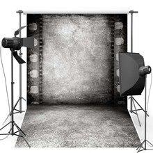 Fundo Fotografia vinil Backdrops Novo Tecido de Flanela Do Vintage Retro Rolo de Concreto Da Parede Da Película Para estúdio de fotografia de Casamento 637