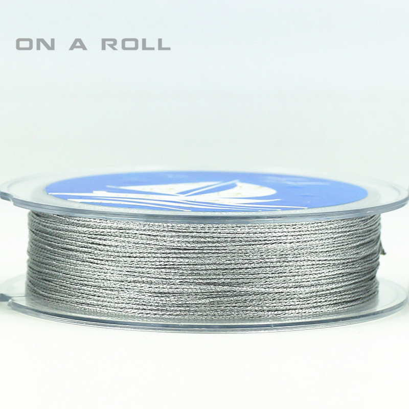 0.5mm New Arrival Jewelry Making Cord Thread Silk Beading Thread bead Cord 45M/roll Nylon Cord Costume Jewelry DIY