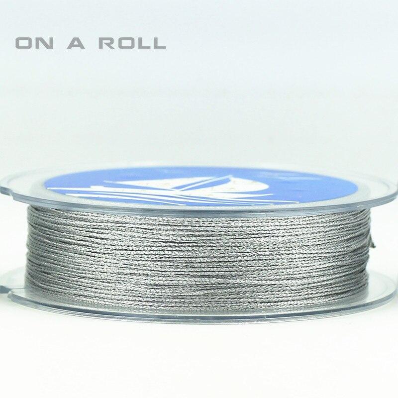 0.5mm New Arrival Jewelry Making Cord Thread Silk Beading Thread Bead Cord 45M/roll Nylon Cord Costume Jewelry DIY