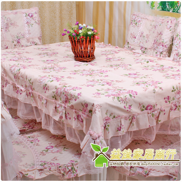 Series rustic cloth dining table cloth table cloth tablecloth