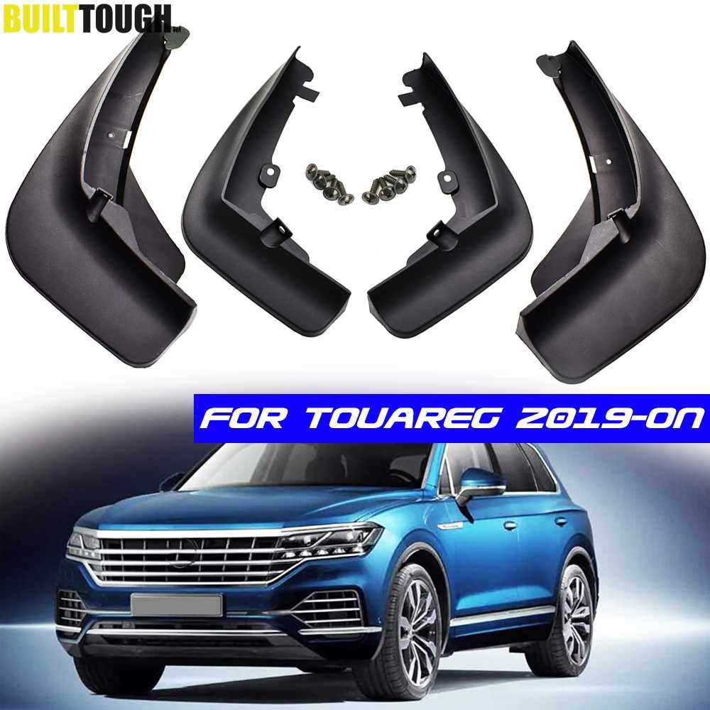 Front Rear Mud Flaps For VW Touareg 2019 2020 MK3 Set Mudguards Fender Splash Guards Mud Flap Dirty Guards Car Accessories