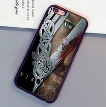 VIKINGS TV Series Ragnar Lothbrok Poster  Case For iPhone 6 6S Plus 7 7 Plus 5 5S 5C SE 4S