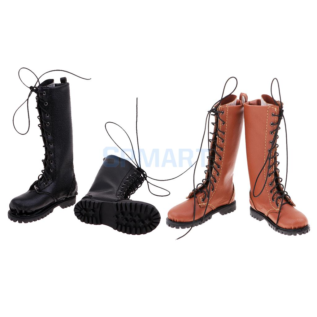 1/6 Male Boots Men Shoes for 12inch HT/Phicen/Kumik Action Figure Body Toy line art