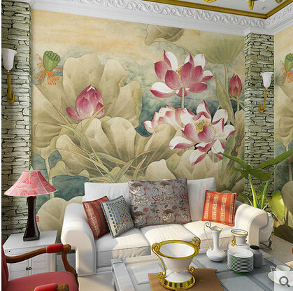 Papel Mural Vintage 3D Wall Murals Self Adhesive Wallpaper Wall