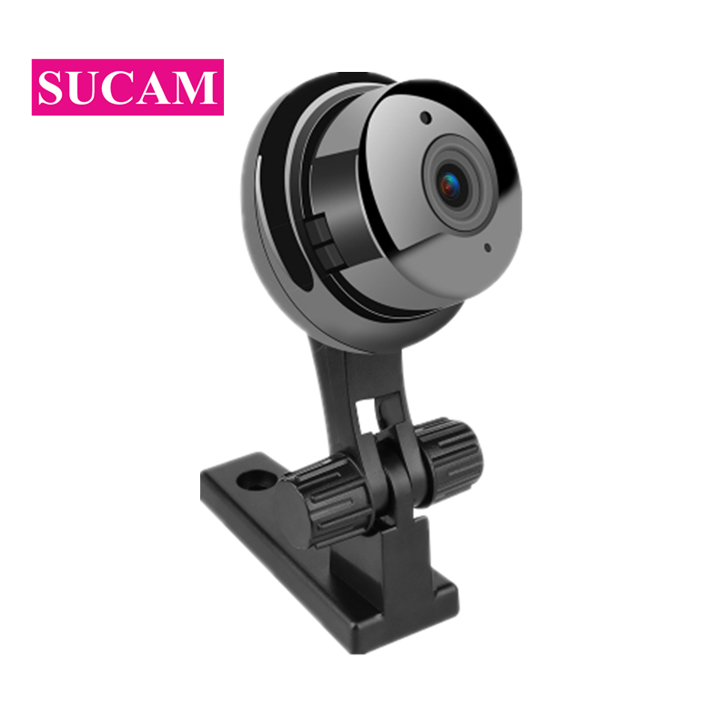 SUCAM 1MP Mini Wifi IP Camera 720P Indoor Motion Detection Email Alarm Yoosee Wireless Network Baby Monitor Two Way AudioSUCAM 1MP Mini Wifi IP Camera 720P Indoor Motion Detection Email Alarm Yoosee Wireless Network Baby Monitor Two Way Audio