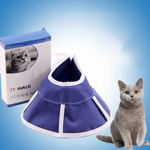 Pet Cat Protective Collar Cloth Dog Neck Cone Recovery for Anti-Bite Lick Surgery Wound Heal Dogs Health Medical