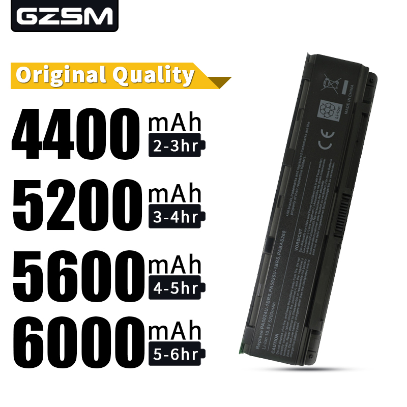 GZSM new LAPTOP battery for <font><b>TOSHIBA</b></font> <font><b>L800</b></font> L800D L805 L805D L830 L830D L835 L835D L840 L840D L845 L845D L850 L850D PA5024 battery image