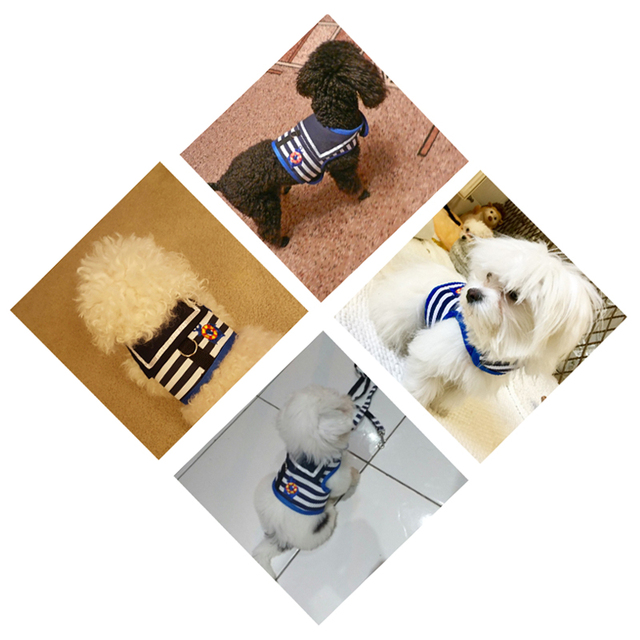 Breathable Navy Style Dog Harness