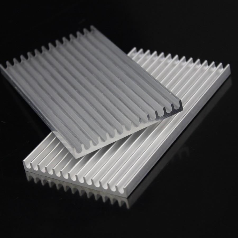 10 Pcs 100x55x6mm Heatsink Aluminium Pendingin Radiator X 10mm Cooling Heat Sink Komputer Elektronik Di Fans Dari Kantor Aliexpresscom