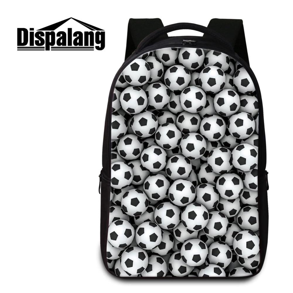 Footballs Men's Casual Travel Bag Bagpack Basketballs