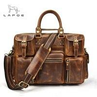 Для Мужчин's Портфели Tote сумка дорожная сумка для ноутбука Для мужчин docu Для мужчин t бизнес Портфели мужской натуральная кожа атташе портфо